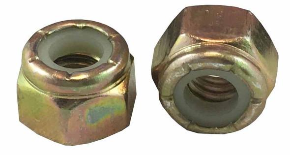 Nylon-Insert Lock Nut - 3/8 inch - Zinc PLTD - Fine 1