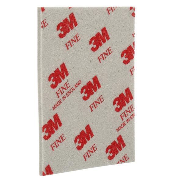 "3M 03809 4-1/2"" x 5-1/2"" Softback Sanding Sponge, Fine"