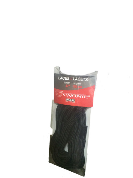 Dynamic SF45042C 42 inch Round Laces Black