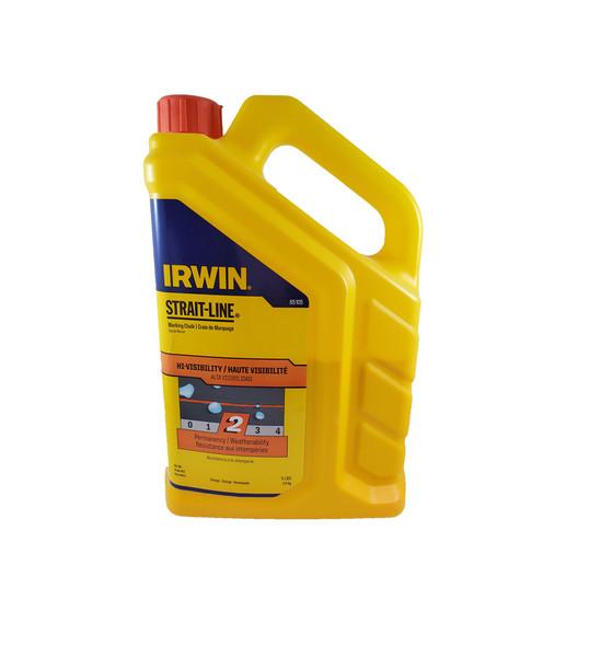 Irwin 5 lb Orange Hi-Viz Marking Chalk