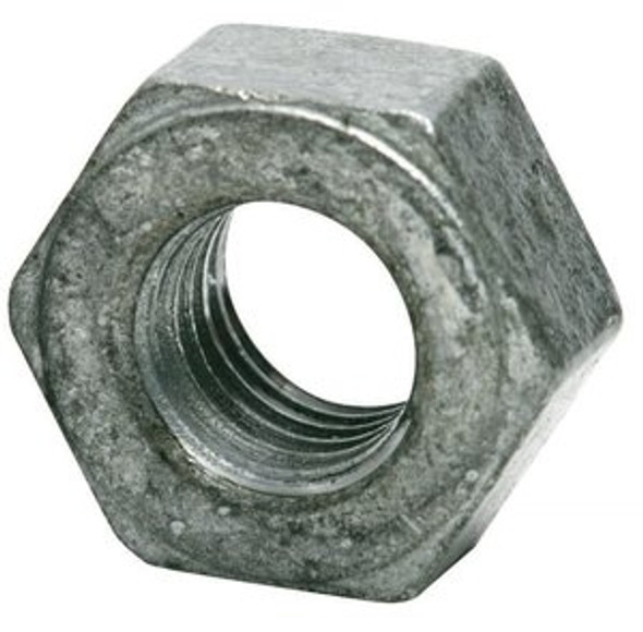Hex Nut - Galvanized - Coarse Grade 2