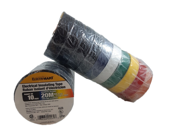 Cathelle 31240 Electrical Assorted Tape Pack