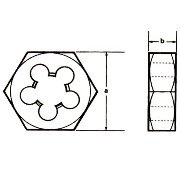 Champion Cutting 330-5/8-18 Hexagon Re-threading Dies