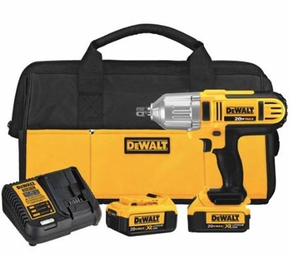 "Dewalt DCF889M2 20V Max 1/2"" High Torque Impact Wrench Kit"