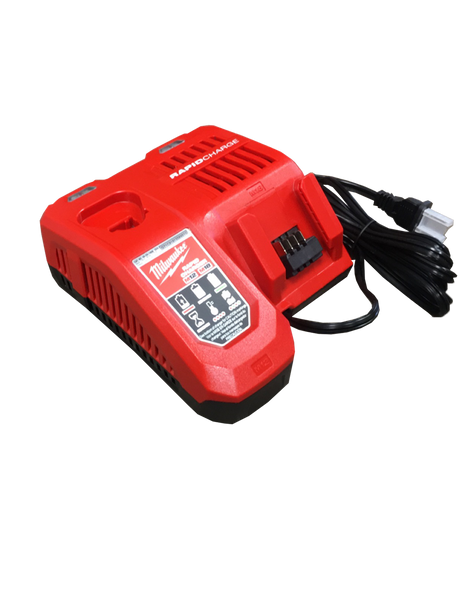 Comes with M18 & M12 Rapid Charger (48-59-1801)