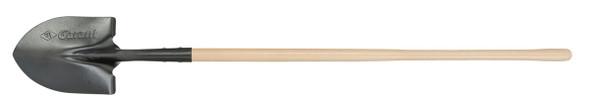 Garant GHR2FL Round Point Shovel, Long Wood Handle