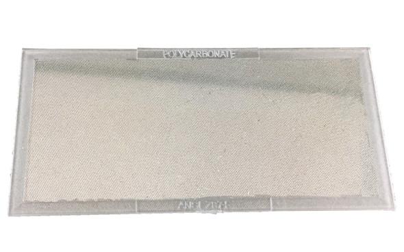 """Fibre Metal NPC-242 2"""" x 4 1/4"""" Clear Welding Lens"""
