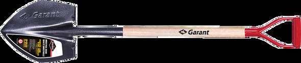 "Garant GEX2FD35 Pro Series Excavator Shovel, Wood Handle, 35"", D-grip"