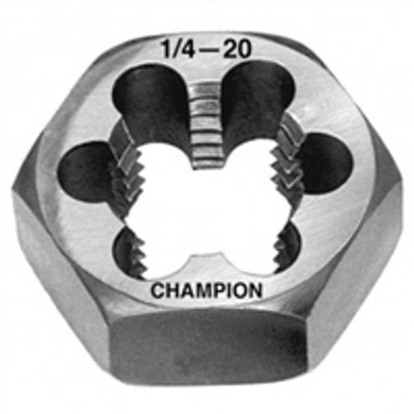 Champion Cutting 330-1/4-20 Hexagon Re-threading Dies