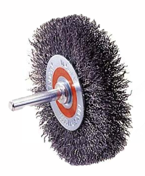 Walter 13-C 120, Mounted Crimped Wire Brush, Wheel - 2""