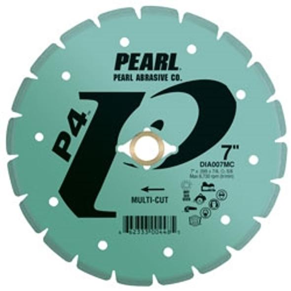 Pearl Abrasive DIA005MC 5 x .080 x 7/8, 5/8 Pearl P4 Specialty Multi-Cut Rescue/Utility Blade