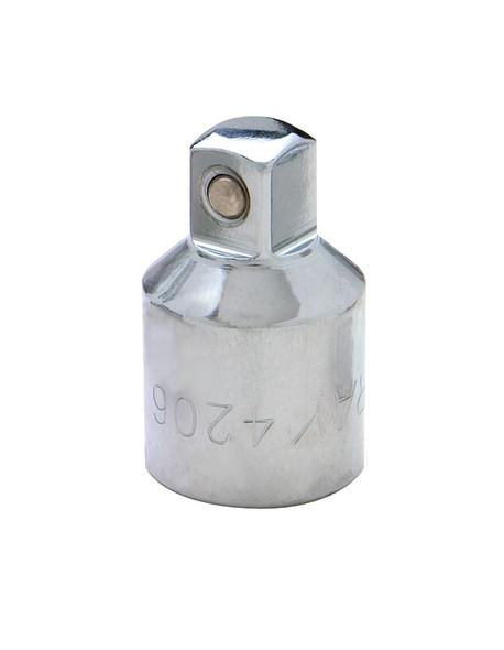 "Gray Tools 4206 1/2"" Drive x 3/8"" Socket Adapter"