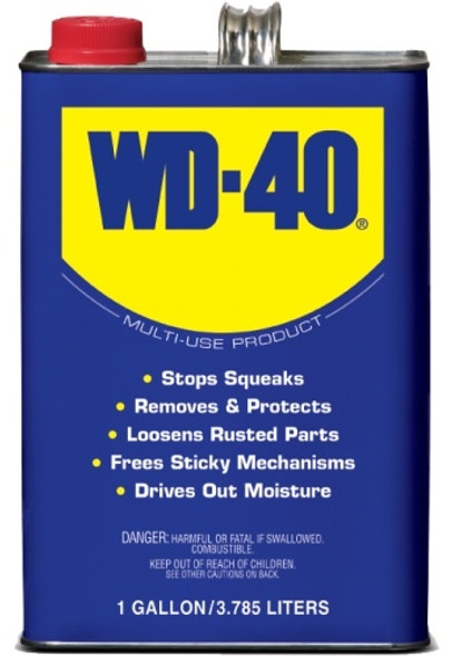 WD-40 Multi-Use Lubricant, 3.78 Litres