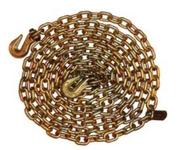 """Vanguard 3807-2420 Grade 7 Tie Down Chain Assembly 3/8"""" x 20'"""