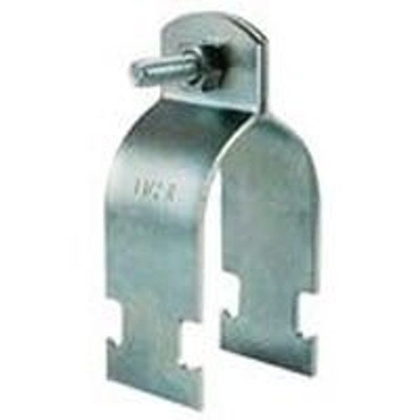 Strut 2-Piece Galvanized Pipe Clamp
