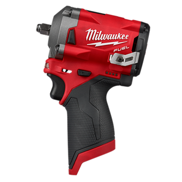 Milwaukee 2554-20 M12 FUEL 3/8″ Stubby Impact Wrench