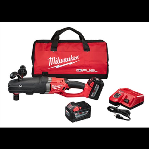 M18 FUEL SUPER HAWG™ Right Angle Drill w/ QUIK-LOK™ Kit
