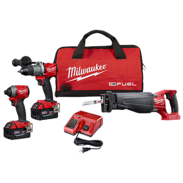 Milwaukee  M18 FUEL 3-Tool Combo Kit