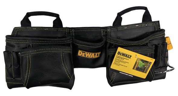 Dewalt DG5472 - 12 Pocket Carpenter's Leather Apron