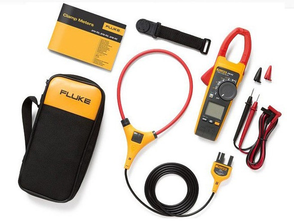 Fluke 376 FC True RMS AC/DC Clamp Meter with iFlex