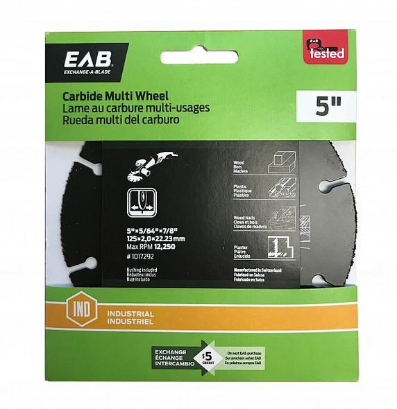 "Exchange A Blade 1017292 5"" Carbide Multi Wheel"