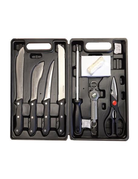DOCAP 690-143 - 8 PIECE HUNTING KNIFE KIT
