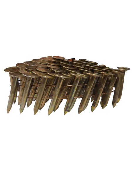 """Bissett RC5DGAL Angle Coiled Galvanized Roofing Nails 1-3/4"""""""