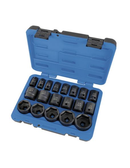 JET 610328 19 PC 1/2″ DR SAE Impact Socket Set – 6 Point