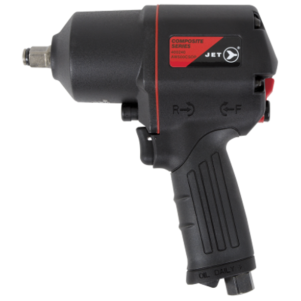 "Jet  Air Impact Wrench - 1/2"" Drive Composite Series - 780 ft-lb"
