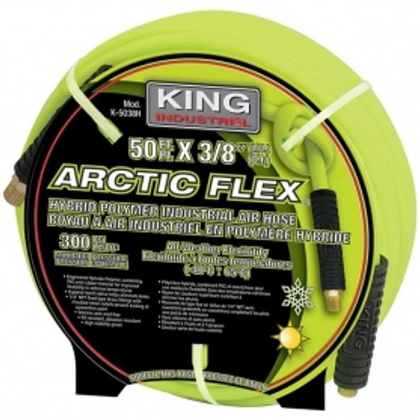 """KING CANADA K-5038H 3/8"""" X 50' HYBRID POLYMER INDUSTRIAL AIR HOSE"""
