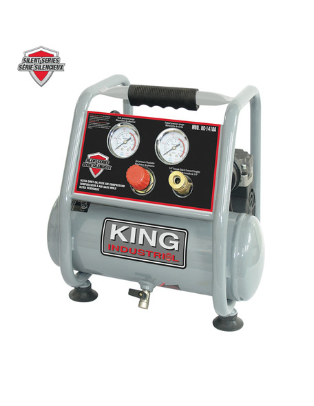 KING CANADA KC-1410A Ultra Quiet Oil-Free Air Compressor