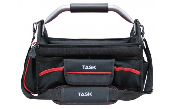 "Task Tools Heavy Duty 15"" Open-Top Tool Bag T78451"