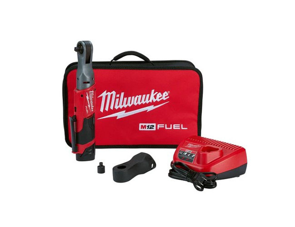 "Milwaukee M12 Fuel ⅜"" Ratchet Kit"
