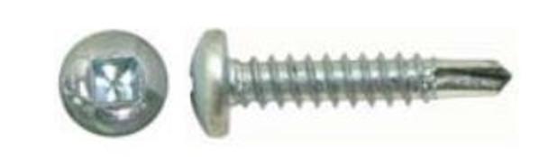 "Ucan TSP 1034B U-Drills Stainless Steel TEK Screw #10-16 x 3/4"" - Ruspro Coated"