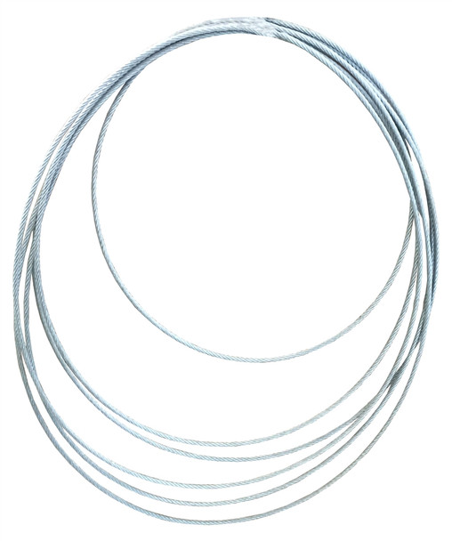 """Vanguard 2701-0004 Galvanized Air Cable 1/16"""""""