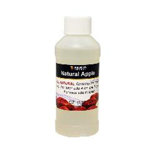 Apple Natural Fruit Flavoring Extract 4 oz (SL67)