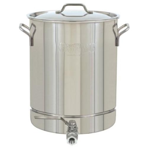 16 Gallon Stainless Brew Kettle w/Spigot
