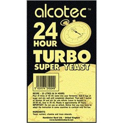 24 Hour Turbo Yeast 205g (SL42)