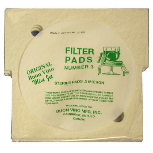 MiniJet Filter Pads | #3 Sterile (SL30)