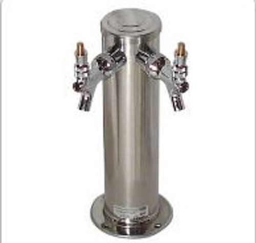 Beer Column, 2 Faucet