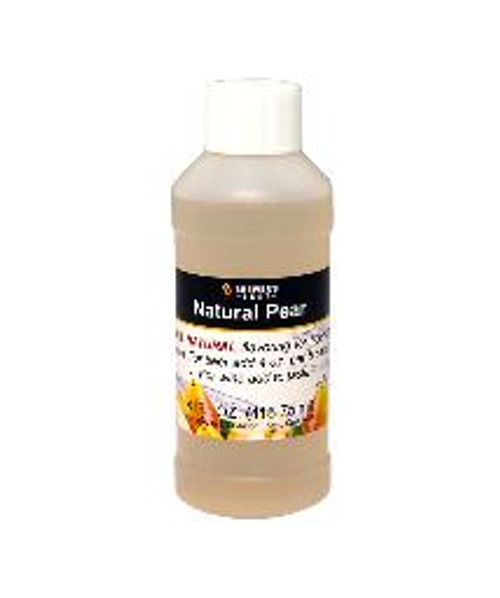 Pear Natural Fruit Flavoring Extract 4oz (SL67)