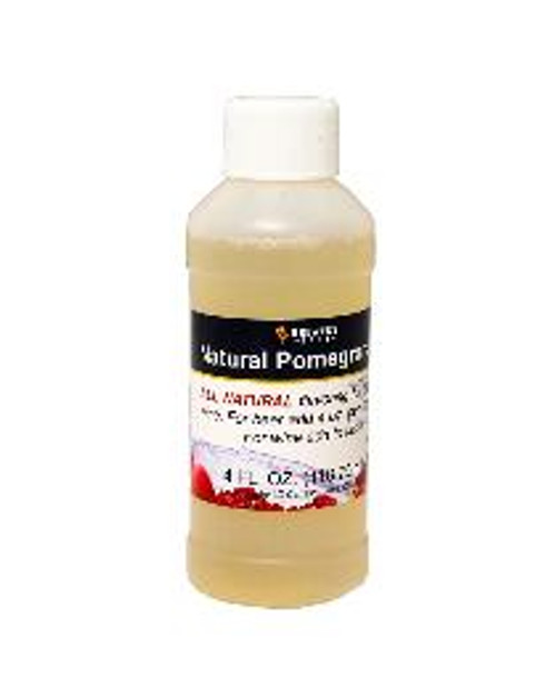 Pomegranate Natural Fruit Flavoring Extract 4 oz (SL67)