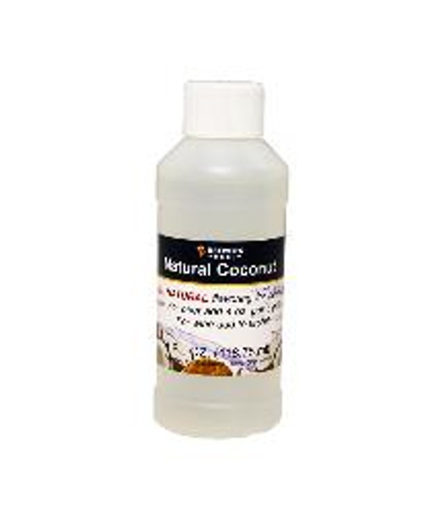 Coconut Natural Fruit Flavoring Extract 4 oz (SL67)