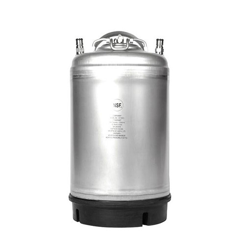 3 GALLON BALL LOCK KEG- NEW