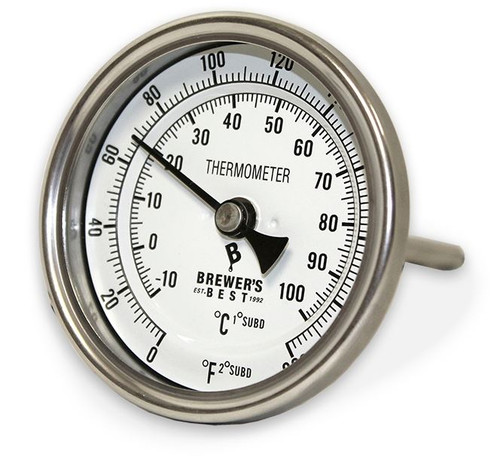 Stainless Kettle Thermometer (SL35)