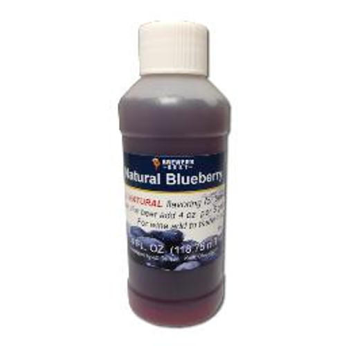 Blueberry Natural Fruit Flavoring Extract 4 oz (SL67)