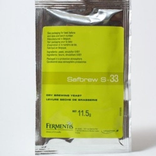 Fermentis Safbrew S-33 Ale 11.5g (SL64)