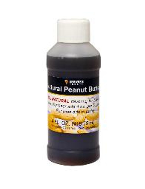 Peanut Butter Natural Flavoring Extract 4oz (SL67)