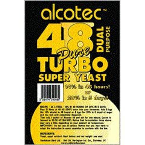 48 Hour Turbo Yeast 135g (SL42)