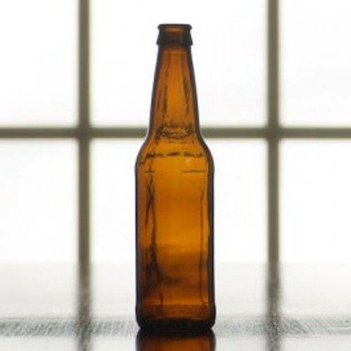 Beer Bottle | 12 oz (Case of 24)Amber (SL68)